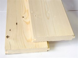 Половая доска 36х135 мм (сосна, ель), сорт АВ (м. кв.) - фото 4717