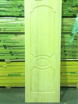Дверное полотно с коробкой 900х2000 мм, сосна без сучков - фото 4725