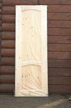 Дверное полотно с коробкой 800х2000 мм, сосна с сучками - фото 4727