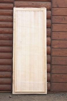 Дверное полотно глухое 700х1800 мм, липа - фото 4756
