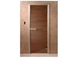 Дверное полотно (стекло) 700х1900 мм, липа ( шт.) - фото 4764