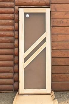 Дверное полотно Сауна Данн 700х1900 мм, липа - фото 4777